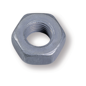 HV hexagon nut DIN EN 14399-4, M 20, steel 10, hot dip galvanized (F)